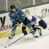 Sharks seize control against Blues