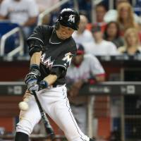 Ichiro gets four hits as Marlins beat Nats