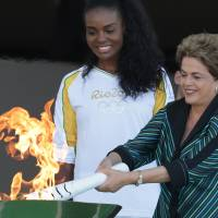 Brazil begins Olympic torch relay