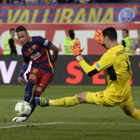 Barcelona claims domestic double