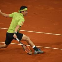 Nishikori makes Madrid semis