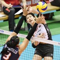Japan spikers sweep Dominican Republic, inch closer to Olympic berth