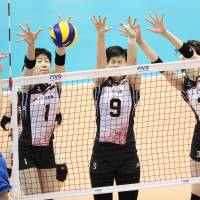 Japan cruises past Kazakhstan in Rio qualifiers