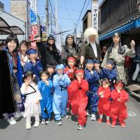 Ninja tours are popular with people visiting Mie Prefecture. | MIE PREFECTURE
