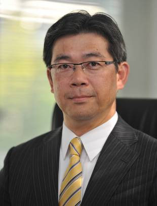 Takeharu Tsutsumi, president of The Japan Times, Ltd.