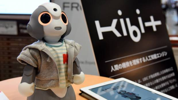 Expo offers glimpses of a future assisted by artificial intelligence