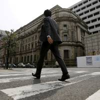 BOJ makes contingency plans for Brexit, sees dollar squeeze a risk