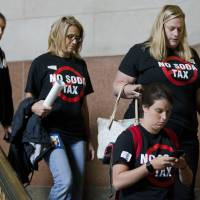 Philadelphia levies tax tax on sugary and diet beverages