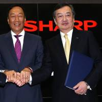 Sharp shareholders approve Hon Hai takeover