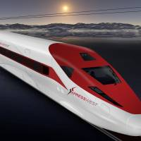 Vegas firm seeking high-speed LA rail link breaks with China company amid made-in-USA challenge
