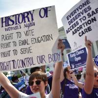 Supreme Court strikes down restrictive, widely replicated Texas abortion law