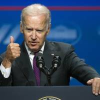 Biden asserts Trump could trigger surge in anti-Americanism