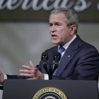 George W. Bush ends exile, hits campaign trial to help Republicans raise money
