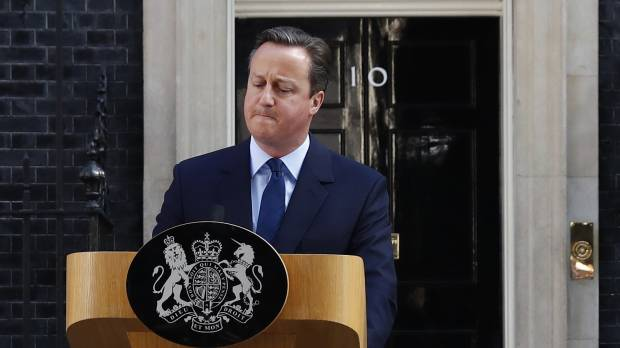 Following Brexit referendum, Cameron says he will resign by October