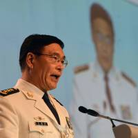 Beijing pushes back against U.S., says it 'has no fear of trouble' in South China Sea
