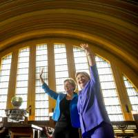Clinton cautious on running mate pick as Democrats plot course to take Senate