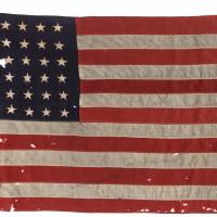 Flag from U.S. boat that guided first wave ashore on D-Day fetches $514,000