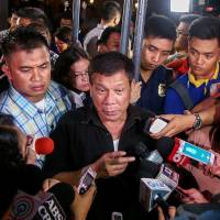 Open season on press: Duterte dares media to boycott him, vows to end vulgarity once he's sworn in
