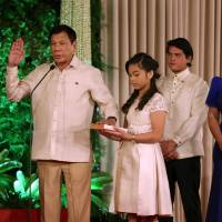 Duterte takes office as Philippine president