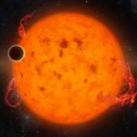 Five times bigger than Earth, recently discovered exoplanet K2-33b circles its star in just five days