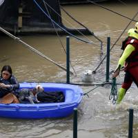 Two dead, thousands evacuated in France flood emergency
