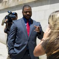 Baltimore cop testifies Freddie Gray sought help up during fatal ride, claims driver agreed he needed medical aid
