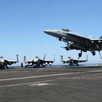 USS 'Ike' adds second carrier group to Mediterranean amid Russia expansion