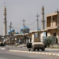Iraqi special forces enter center of IS-held Fallujah