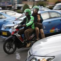 Jakarta's chaotic traffic gives rise to ride-hailing app