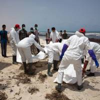 132 more migrant corpses wash up on Libyan beaches