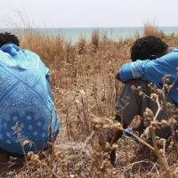 At least 85 drowned migrants found on Libya's shores