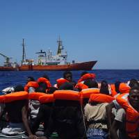 4,500 migrants rescued in day of Mediterranean crossings: Italy