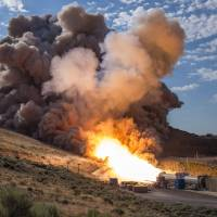 NASA boasts success in Utah test of jumbo booster for Mars missions