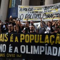 Rio police protest lack of pay, cruiser fuel, toilet paper as Olympics near