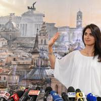 Rome poised to put first female in mayor's seat