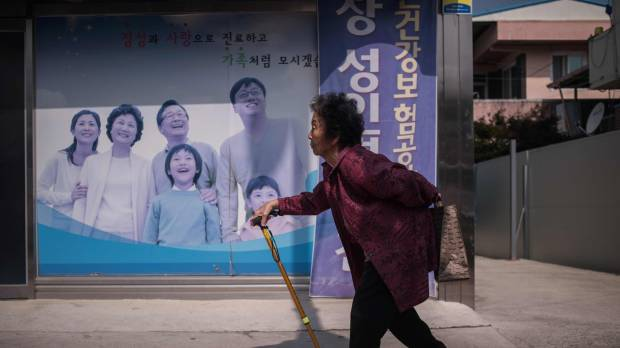 'Silver tsunami' threatens to wipe out South Korean rural communities