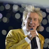 Rod Stewart knighted by queen