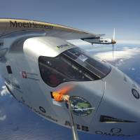 'Good morning Seville' as solar plane logs 71-hour Atlantic solo first