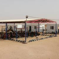 Clean water running out at Syrian refugee camp near closed Jordan border