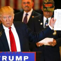 Trump turns testy toward press, claims he got no credit for raising $5.6 million for vets