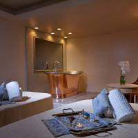 Le Spa Parisien at The Westin Tokyo is a spa that offers guests an anti-aging Gemology facial treatment produced from genuine diamond powder and precious minerals extracted from fine gems.