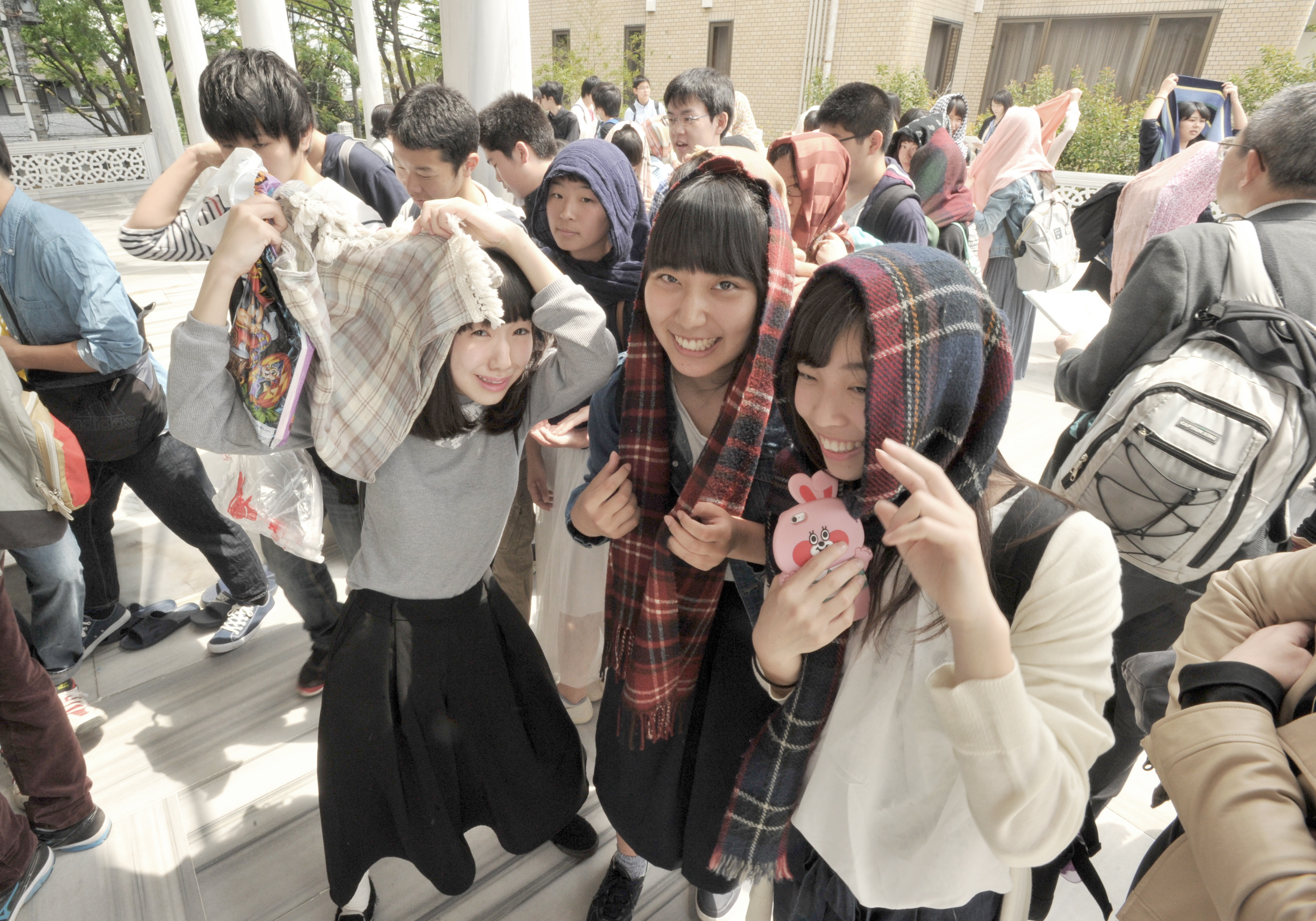 Students Visit Tokyo Mosque To Get Unbiased Glimpse Of Islam The