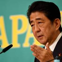 DP's Okada challenges Abe to TV debate ahead of Upper House election in open letter