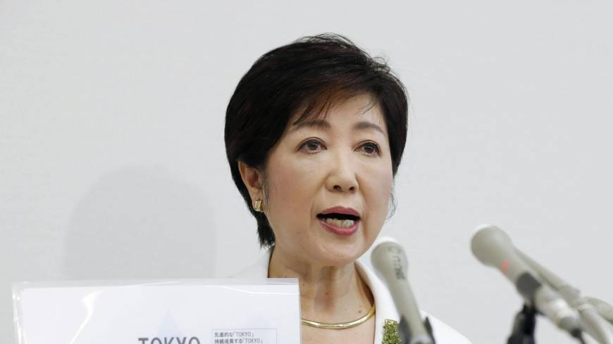 Former LDP defense chief Koike goes rogue, announces bid to be Tokyo's first female governor
