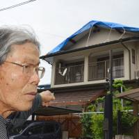 Rainy season threatens quake-hit Kumamoto homes awaiting repair, may slow temp-housing effort as well