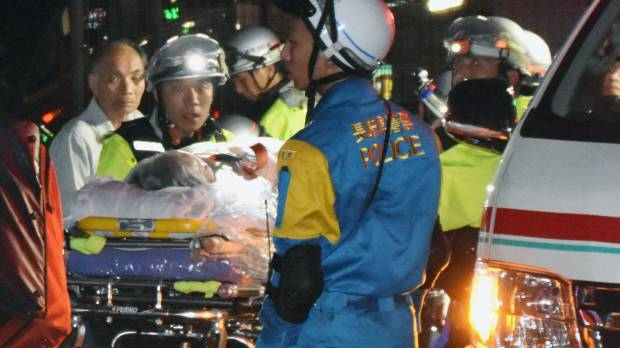 Kyushu downpour-triggered landslides leave woman in coma