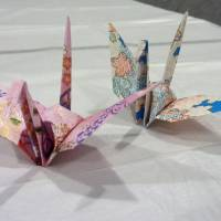 Hiroshima to display paper cranes folded by Obama and visitor's book entry