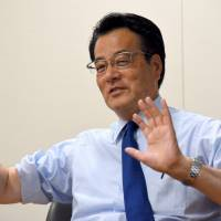 DP's Okada warns Abe is distracting voters from his goal to rewrite Constitution