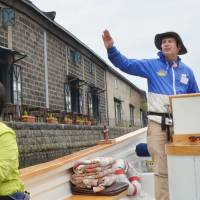 Kiwi captain's Otaru canal tours are popular with visitors
