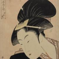 Utamaro woodblock print fetches world-record €745,000 in Paris